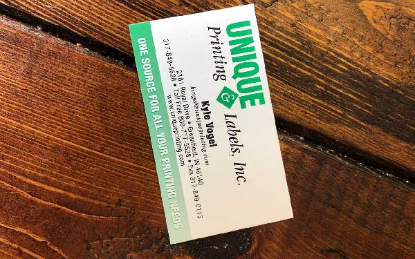 What's the Value of A Commercial Business Card